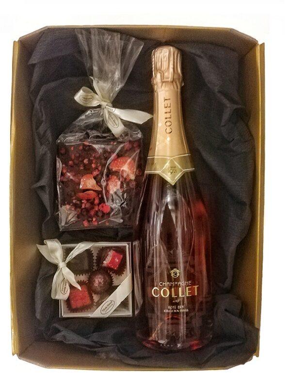 Collet šampanja lummuses - unustamatu roosa unistus