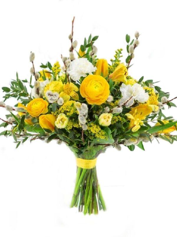 Kevadine kollane lillekimp