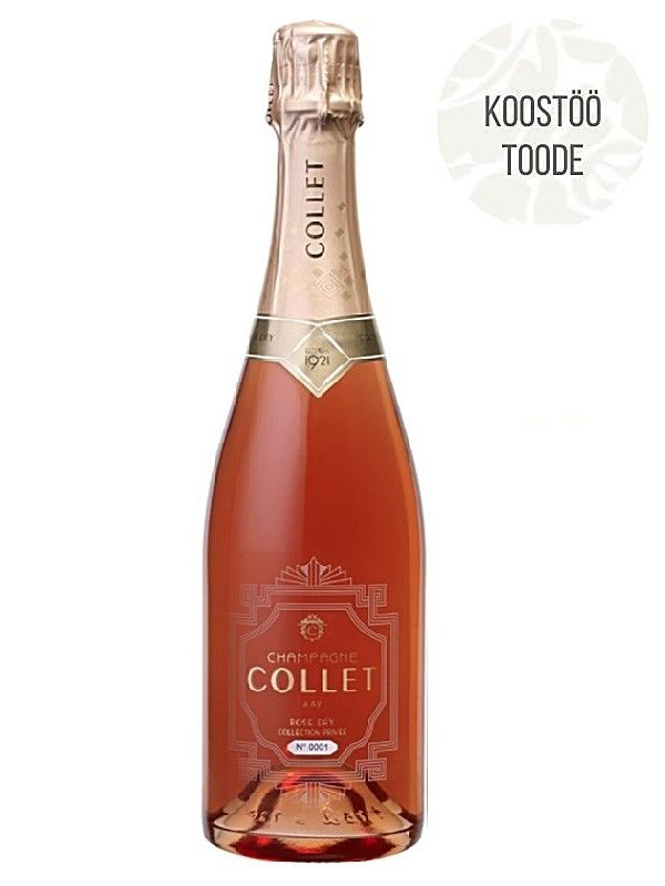 Šampanja Collet Rosé Dry Collection Privée