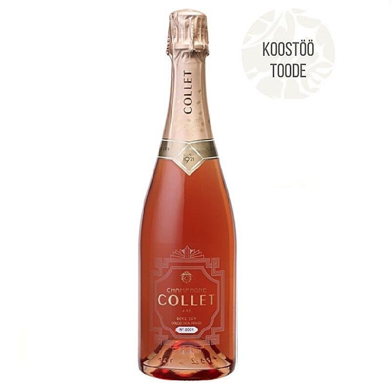 Šampanja Collet Rosé Dry Collection Privée