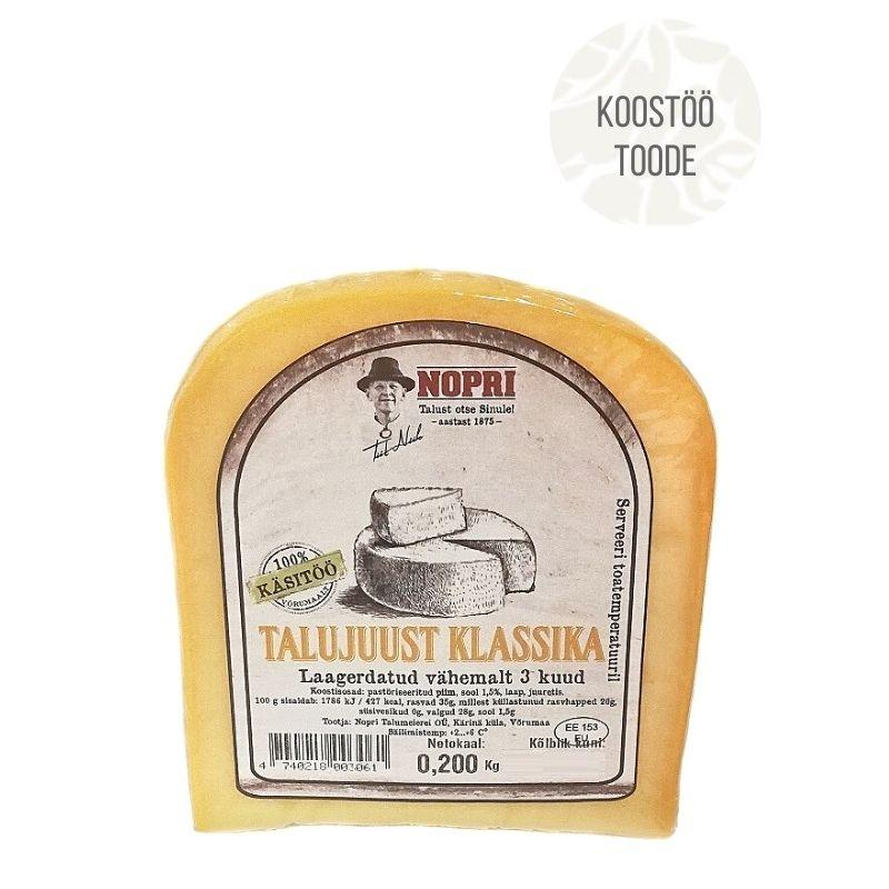 Nopri juust klassika